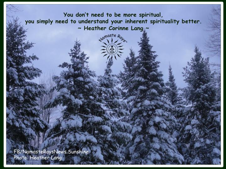 Inherent Spirituality