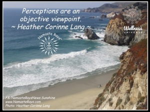Perceptions are Objective