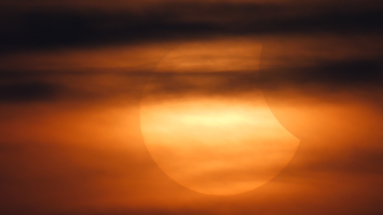 Shutterstock partial solar eclipse