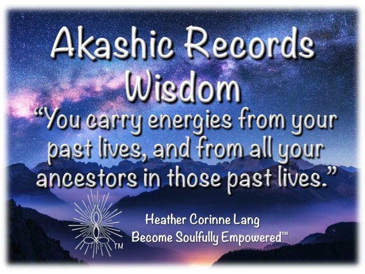 Today's Akashic Records Wisdom