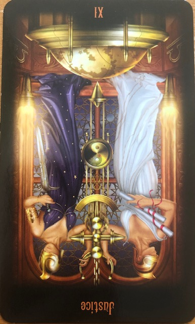 Today's Tarot ~ Justice, Reversed