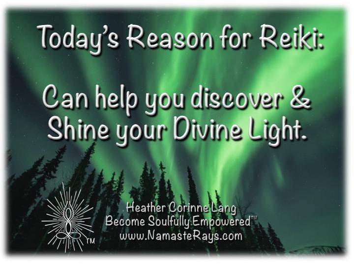 Today's Reason for Reiki